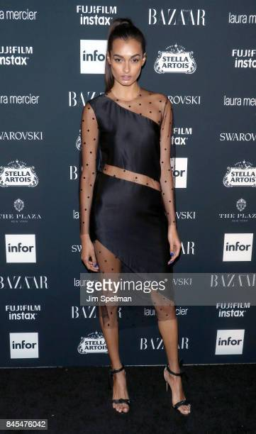 Gizele Oliveira attends the 2017 Harper's Bazaar Icons at The Plaza Hotel on September 8 2017 in New York City