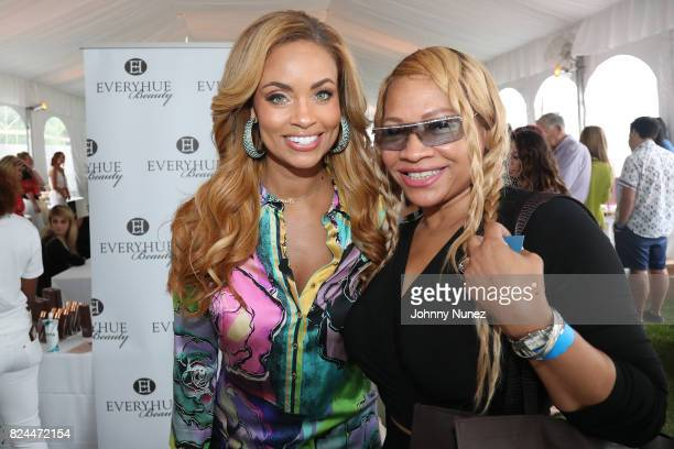 Gizelle Bryant and Stacia attends the Jill Zarin's 5th Annual Luxury Luncheon on July 29 2017 in Southampton New York
