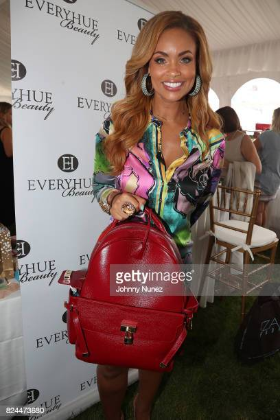 Gizelle Bryant attends the Jill Zarin's 5th Annual Luxury Luncheon on July 29 2017 in Southampton New York