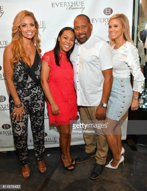 Gizelle Bryant Patrice BasantaHenry Frank Ski and Erika Liles attend EveryHue PopUp shop at Swagg Boutique on July 13 2017 in Atlanta Georgia