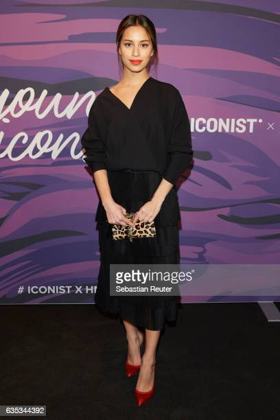 Gizem Emre attends the Young ICONs Award in cooperation with HM and Tiffany's Co at BRLO Brwhouse on February 14 2017 in Berlin Germany