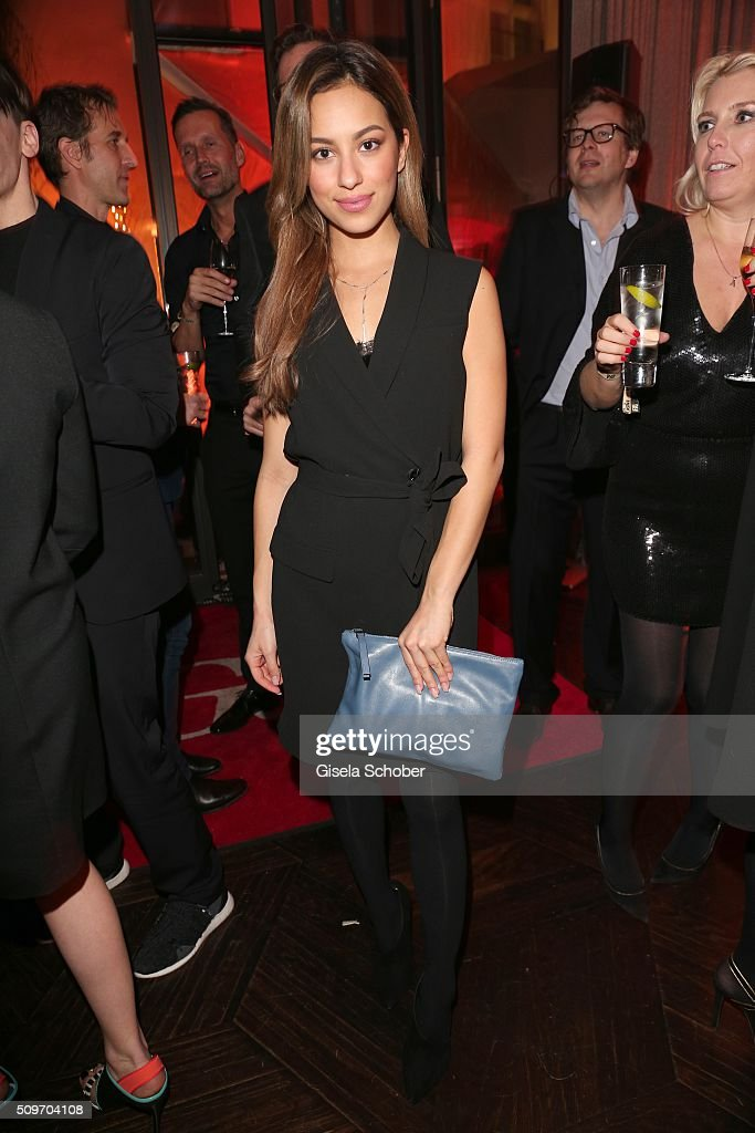 Gizem Emre during the 'Berlin Opening Night of GALA & UFA Fiction' at Das Stue Hotel on February 11, 2016 in Berlin, Germany.