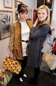 Gizzi Erskine and Amber Atherton attend the VIP launch of Maison Triumph in Covent Garden on February 14 2013 in London England