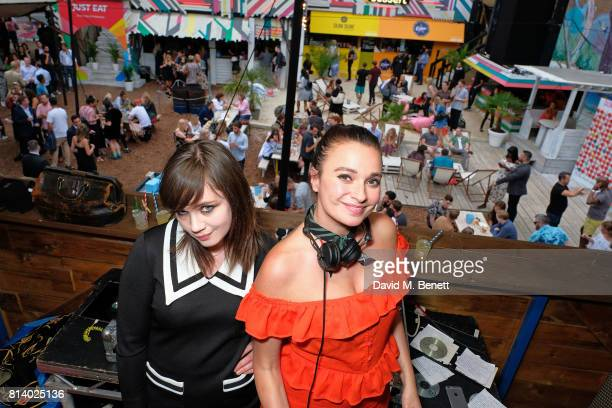 Gizzi Erskine and guest pictured at the VIP launch of Just Eat Food Fest Desert Island Dishes in Red Market London The threeday desert islandinspired...