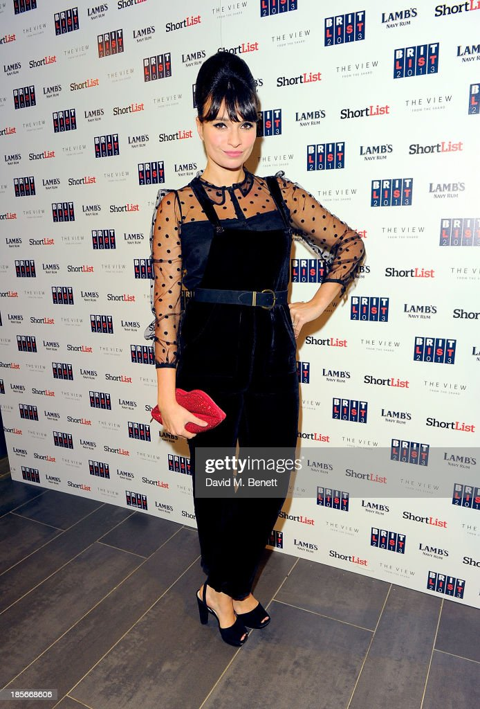 <a gi-track='captionPersonalityLinkClicked' href=/galleries/search?phrase=Gizzi+Erskine&family=editorial&specificpeople=5536167 ng-click='$event.stopPropagation()'>Gizzi Erskine</a> at The View from The Shard on October 23, 2013 in London, England.