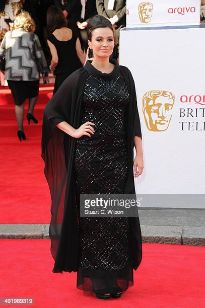 Gizzi Erskine attends the Arqiva British Academy Television Awards at Theatre Royal on May 18 2014 in London England
