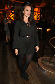 Gizzi Erskine attends the launch of 100 Wardour St on January 28 2016 in London England