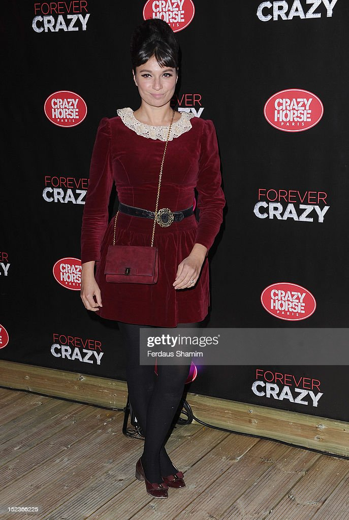 Gizzi Erskine attends the premiere of Crazy Horse on September 19, 2012 in London, England.
