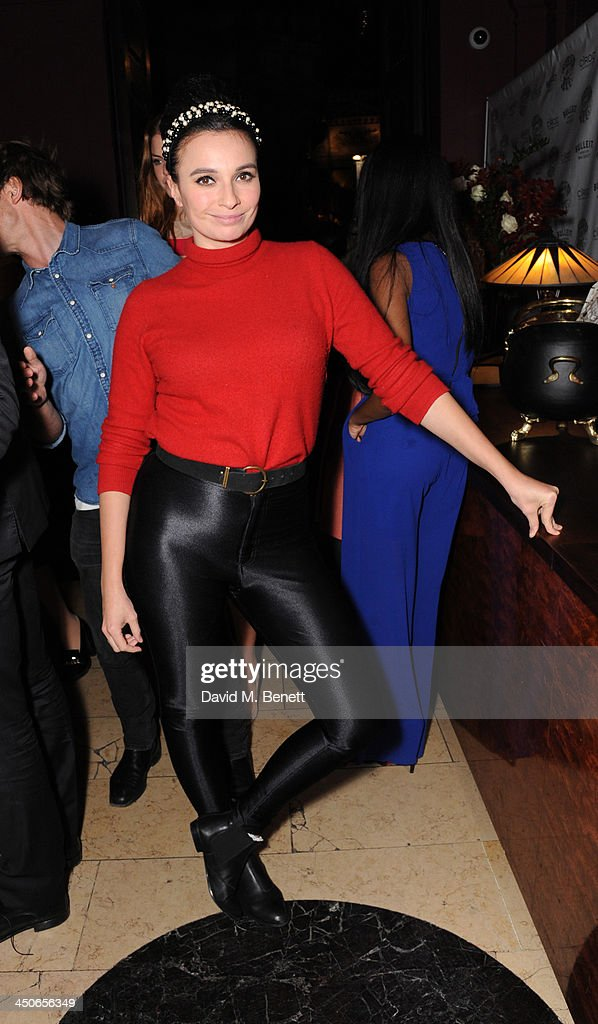 Gizzi Erskine attends the Steam And Rye launch party on November 19, 2013 in London, United Kingdom.