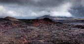 Gjastykki Krafla volcanic lava barren landscape