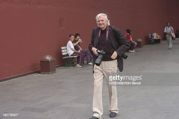 Göksin Sipahioglu In China Göksin SIPAHIOGLU 80 ans fondateur de l'agence Sipa en reportage à Pékin 28 Septembre 2007