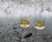 Scotch truly 'on the rocks'