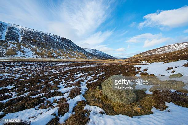 Glacial Valley, Clunie Water, near Braemar
