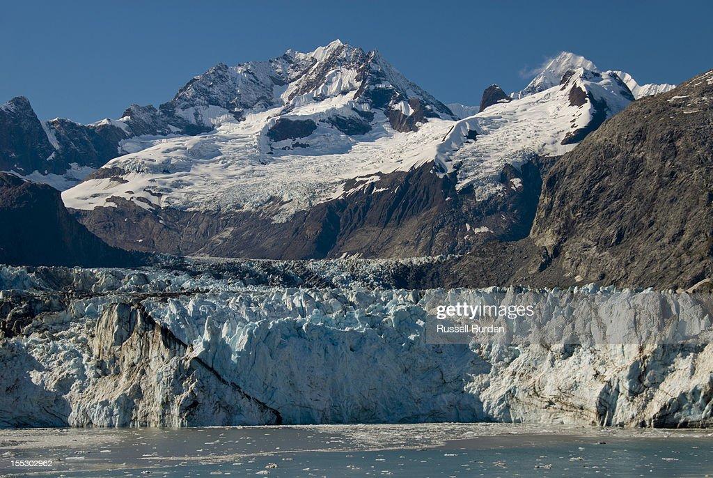 Glacier Bay Alaska : Stock Photo