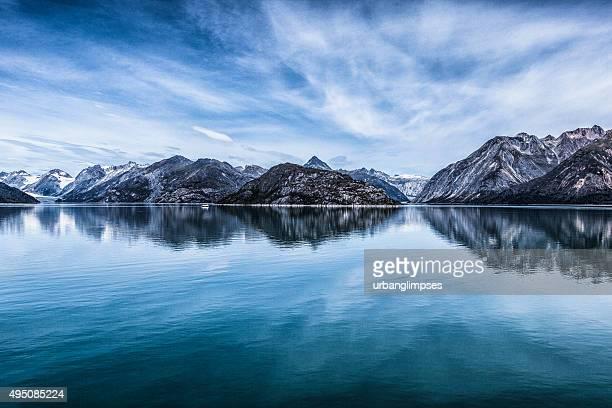 Parque nacional da baía de Glacier, no Alasca e manutenção