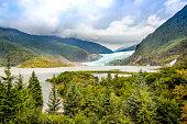 Mendenhall glaciers national park, Juneau, Alaska