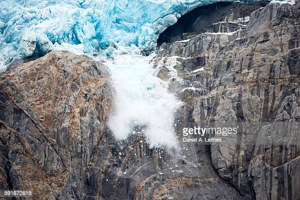 Glacier Ice Fall