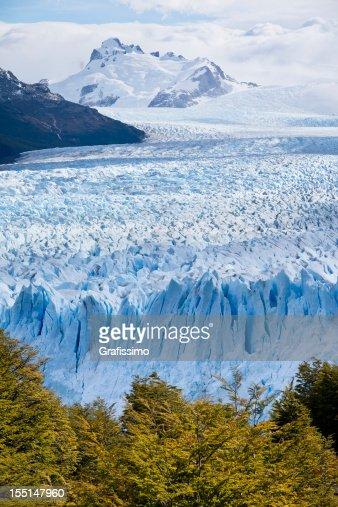 Glacier Perito Moreno National Park in Argentina Patagonia