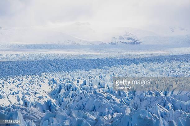 Parco Nazionale del ghiacciaio Perito Moreno in Patagonia Argentina,