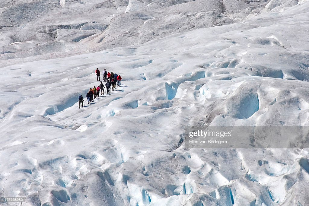 glacier walking 02 : Stock Photo