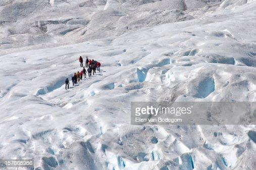 glacier walking 02 : Stock Photo