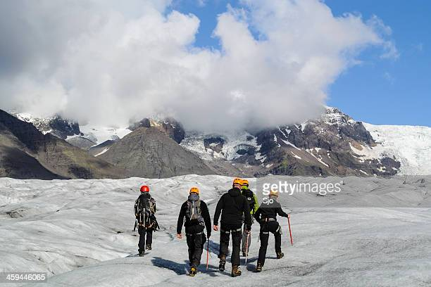 Glacier walking