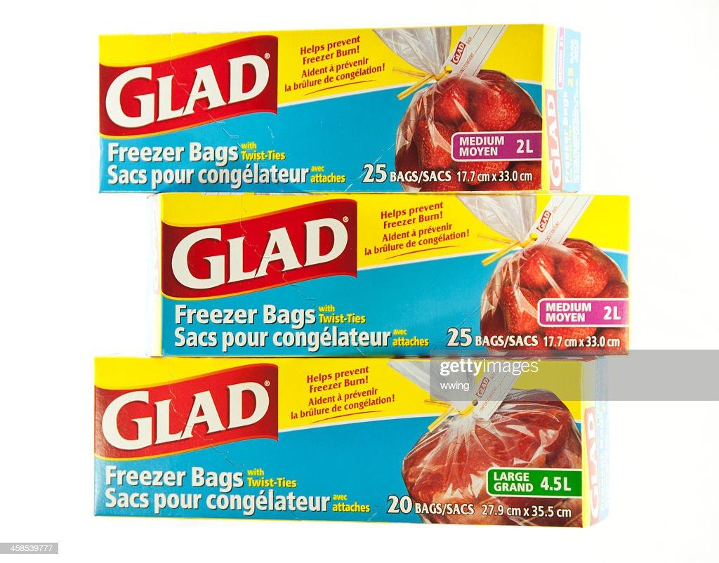 glad freezer bags