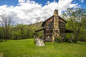 The Gladie historical cabin is a late 1800's log cabin reconstructed as a historical display in the Daniel Boone National Forest. This is public building on public owned park land. It is not a private