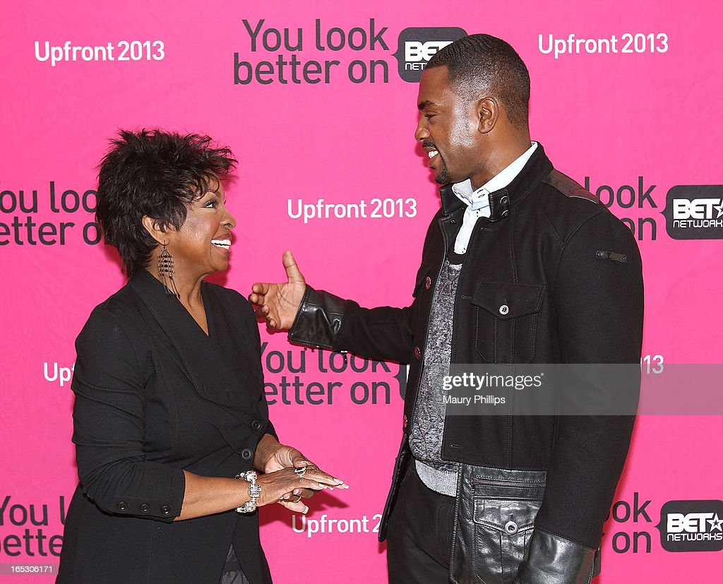 Gladys Knight and Bill Bellamy attend BET Networks 2013 Los Angeles Upfront at Montage Beverly Hills on April 2, 2013 in Beverly Hills, California.