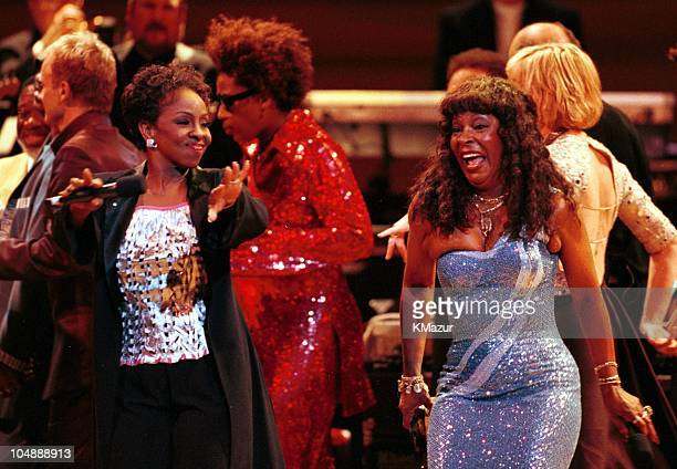 Gladys Knight and Martha Reeves during The 10th Annual Rainforest Foundation Benefit Concert at Carnegie Hall in New York City New York United States
