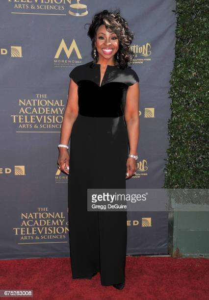 Gladys Knight arrives at the 44th Annual Daytime Emmy Awards at Pasadena Civic Auditorium on April 30 2017 in Pasadena California