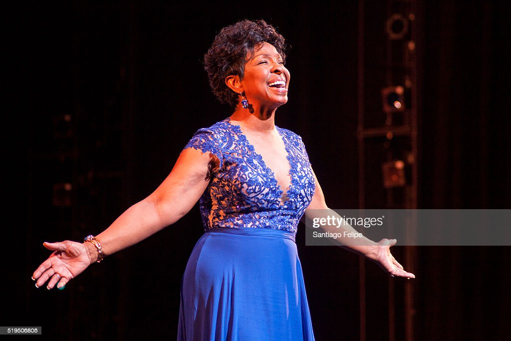 Gladys Knight onstage accepting the Arthur Mitchell Vision Award during the 5th Annual Dance Theatre Of Harlem Vision Gala at New York City Center on...
