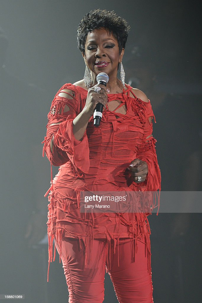 Gladys Knight performs at Hard Rock Live! in the Seminole Hard Rock Hotel & Casino on December 28, 2012 in Hollywood, Florida.