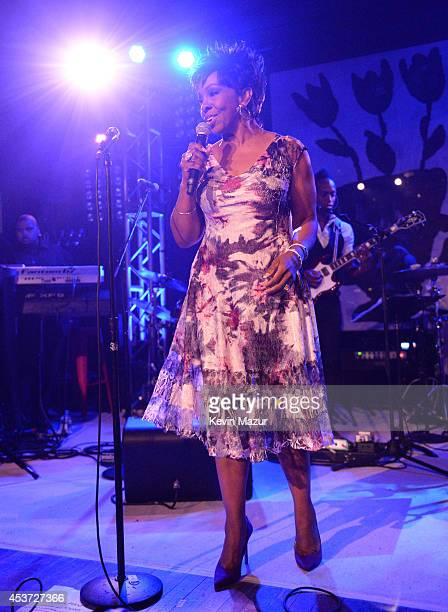 Gladys Knight performs onstage at Apollo in the Hamptons at The Creeks on August 16 2014 in East Hampton New York