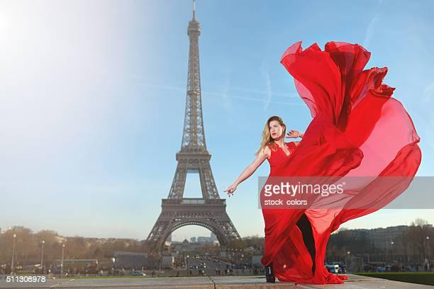 Glamour Schuss in Paris