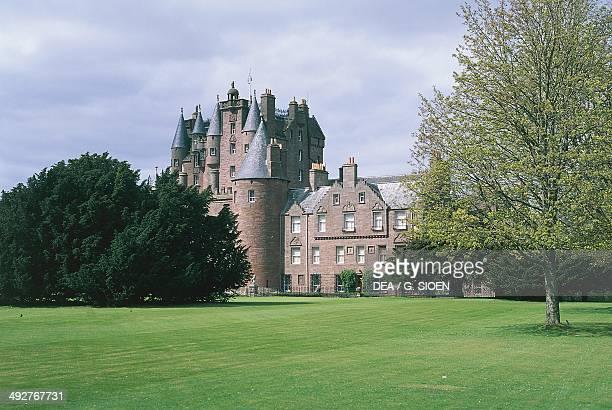 Glamis castle 17th century Scotland United Kingdom