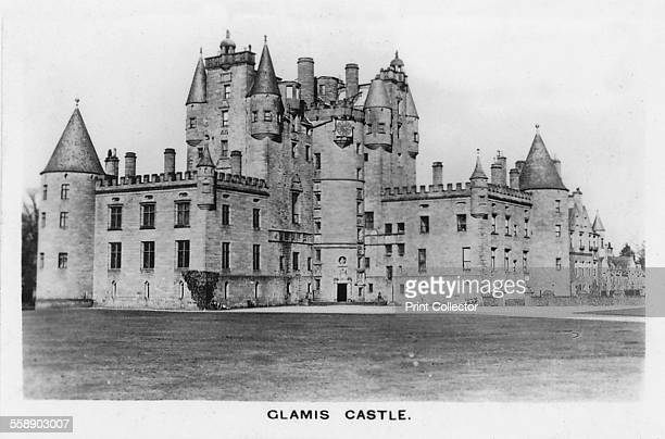 Glamis Castle 1937 Glamis Castle was the home of the Lyon family since the 14th century though the present building dates largely from the 17th...