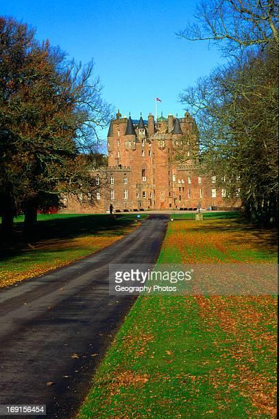 Glamis castle Angus Scotland