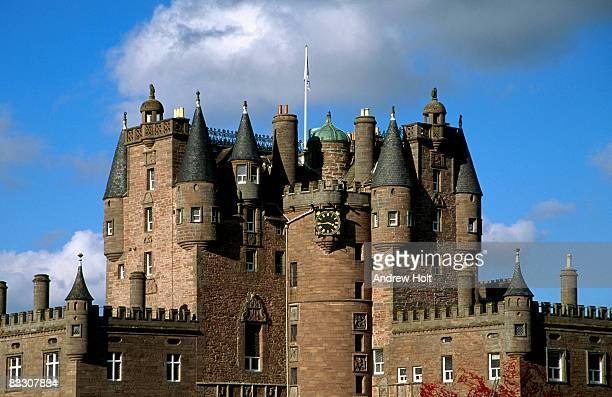 Glamis Castle, Forfar, Angus, Scotland,