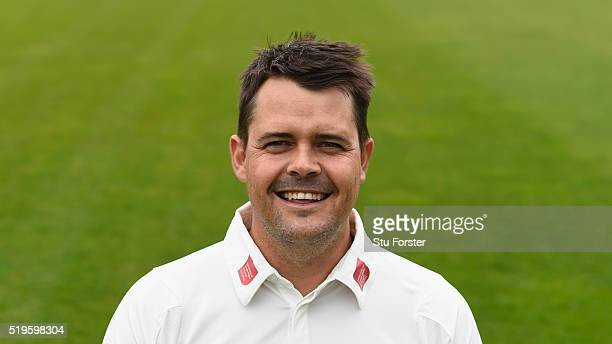 Glamorgan player Jacques Rudolph pictured during the 2016 Glamorgan Cricket photo call at Swalec stadium on April 7 2016 in Cardiff Wales