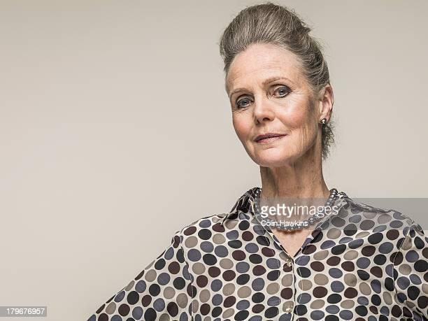 Glamorous Older woman
