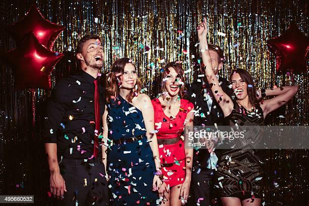 Glamorous party.