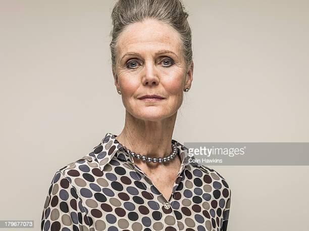 Glamorous senior woman