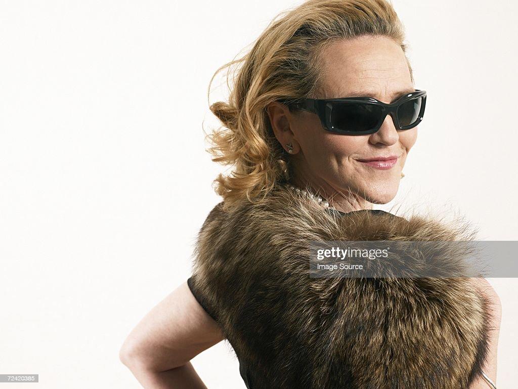 Glamorous woman : Stock Photo