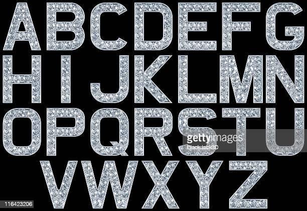 Glamour alphabet