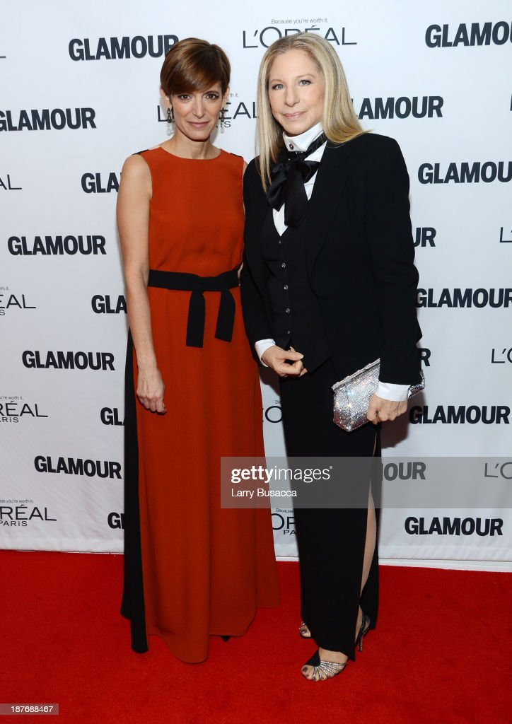 Glamour Editor-in-Chief Cindi Leive (L) and Barbra Streisand attend Glamour's 23rd annual Women of the Year awards on November 11, 2013 in New York City.