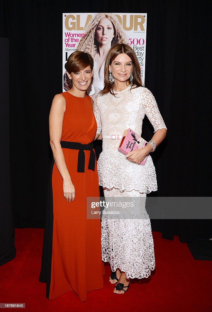 Glamour Editor-in-Chief Cindi Leive (L) and founder of Net-a-Porter Natalie Massenet attend Glamour's 23rd annual Women of the Year awards on November 11, 2013 in New York City.