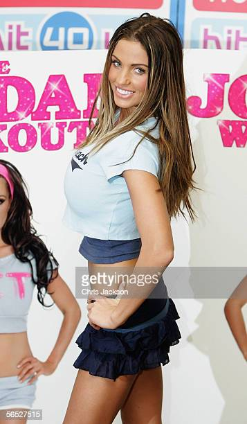 Glamour model Jordan real name Katie Price poses as she meets fans and signs copies of her new DVD The Jordan Workout at Woolworths Lakeside Shopping...