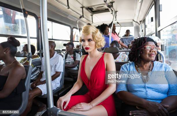 Glamour on the Bus