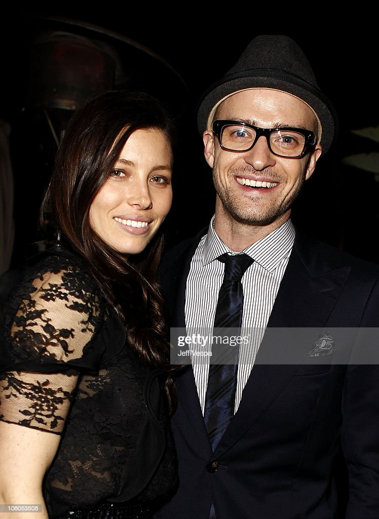 Glamour Reel Moments Director Jessica Biel and singer/actor Justin Timberlake attend the 5th Anniversary of Glamour Reel Moments Presented by Hyundai...